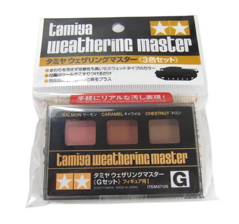 Tamiya Weathering Master G hattons co uk tamiya 87126 weathering master set g for