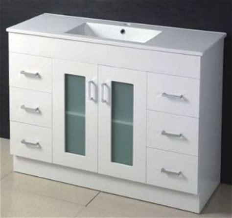 Vanity Door by 1200mm Glass Door Mdf Bathroom Vanity In White Color M967
