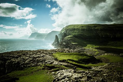 faroe islands landscape pictures nature photography