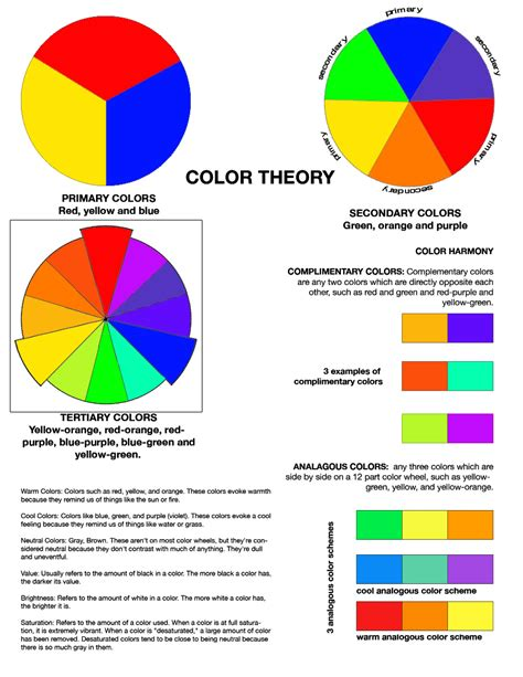 what is blues complementary color color theory worksheet rafaelgarciaphoto