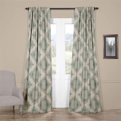 108 teal curtains henna teal 108 x 50 inch blackout curtain single panel