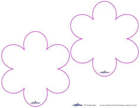 printable blank flowers blank flower template free printable clipart best