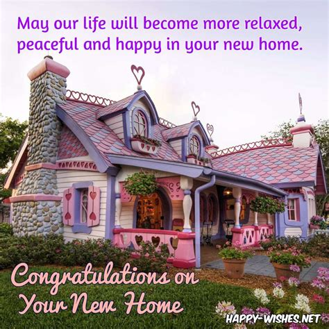 congratulations wishes for new home quotes and messages