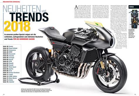 Motorrad Magazin Verlag by Motorrad Magazin Mo 1 2018 Motorrad Magazin Mo