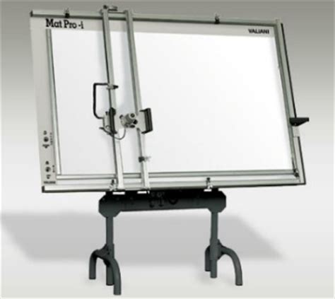 used fletcher mat pro 150 manual pneumatic mat cutter with