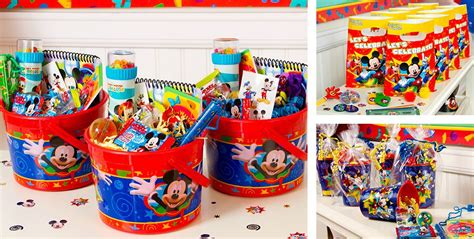 Mickey Mouse Party Giveaways - mickey mouse party favors candy games toys stationery more party city