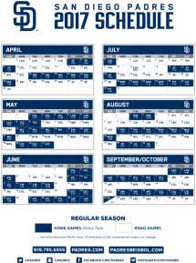 padres release 2017 schedule fm 94 9