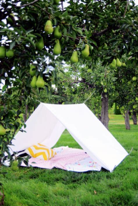 tent in backyard diy backyard tent for sun protection kidsomania