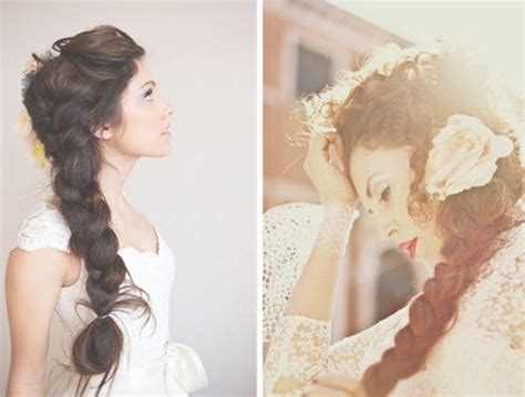30 side braid hairstyles popular haircuts - Wedding Hairstyles With Side Braid