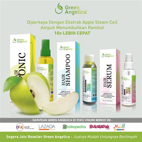 Paket Maximal Green Mengatasi Rambut Rontok Dan Botak 1 paket penumbuh rambut green green obat