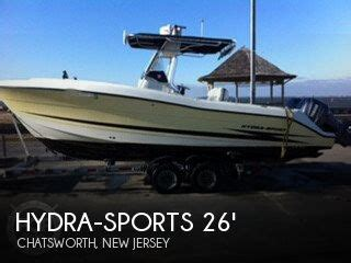 hydra sport boats for sale in new jersey canceled hydra sports vector 26 boat in chatsworth nj