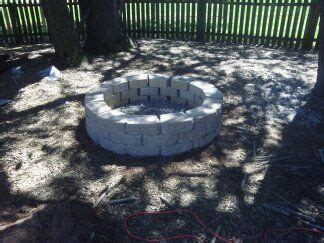 how to build a pit with retaining wall blocks 40 inch inner diameter retaining wall pit 110 5