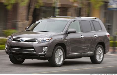 Toyota Kluger Fuel Efficiency Gas Mileage Of 2012 Toyota Highlander Fuel Economy Autos