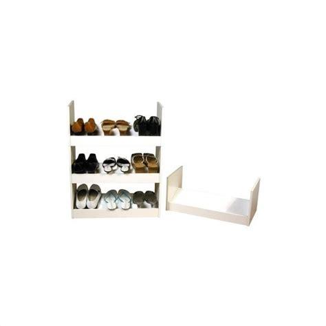 shoe rack closet organizer venture horizon stackable closet organizer shoe rack 4215