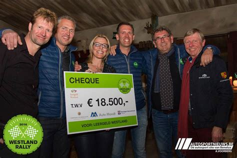 Rally Auto 500 Euro by Wos Nl 18 500 Euro Voor Westland Rally
