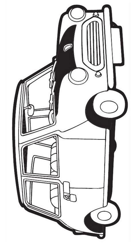 car   bean coloring page  printable coloring
