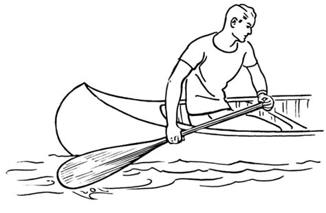 how to draw a boat paddle paddle clip art download