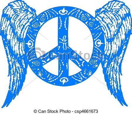 imagenes sobre simbolos de la paz vectores de paz ala s 237 mbolo csp4661673 buscar clipart