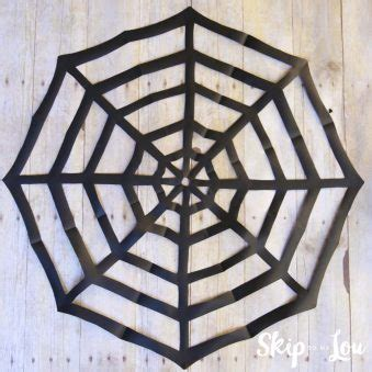 How To Make A Paper Spider - easy crafts for skip to my lou