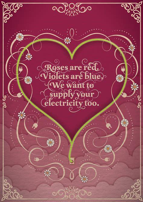 valentines day australia s day card for energy australia on behance