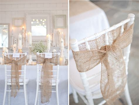 Chair Decorations by Wedding Inspiration Chair Details