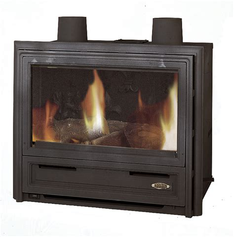 gas burning fireplace inserts godin gas burning fireplace insert 3451 6 5kw lawton