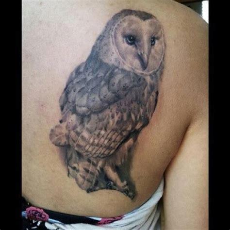 Barn owl | Tattoos By Sergio | Pinterest
