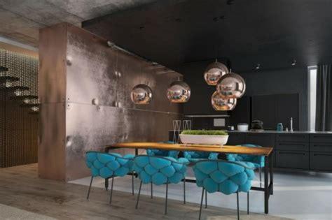 Peindre les murs intérieurs dans des couleurs sombres Design Feria