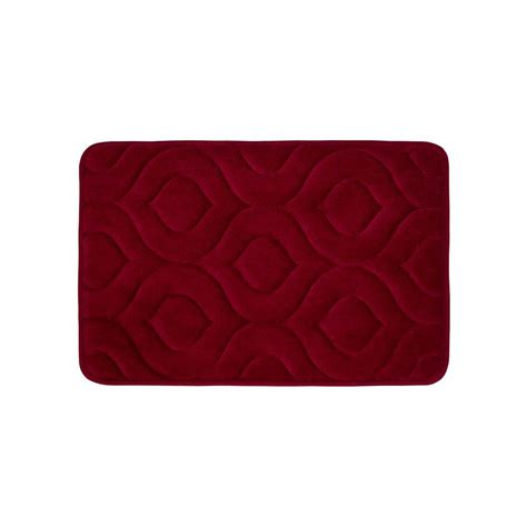 17x24 Bath Mat Bouncecomfort Naoli Barn 17 In X 24 In Memory Foam Bath Mat Ymb002371 The Home Depot