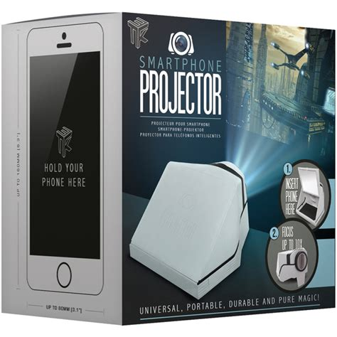 Proyektor Smartphone smartphone projector white iwoot