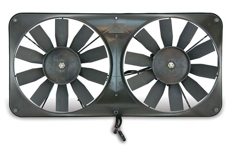 flex a lite electric fan flex a lite automotive compact reversible dual 11 inch