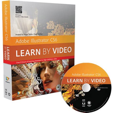 adobe illustrator cs6 learn by video pearson education dvd adobe illustrator cs6