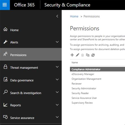 permissions in office 365 use office 365 to keep your business secure and compliant