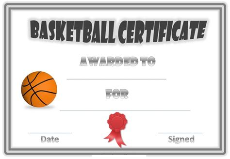 free basketball card template free basketball certificates blank kiddo shelter