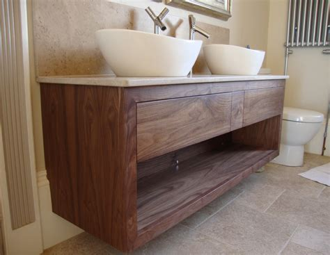walnut vanity bespoke bathroom vanity units oak and painted dc furniture