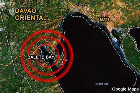 shellfish sa balete bay sa mati, davao oriental, positibo