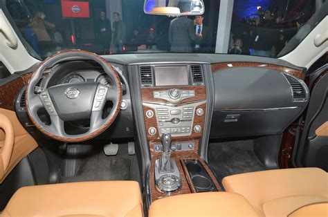 2017 nissan armada interior up and personal with the 2017 nissan armada platinum