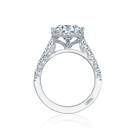 Tacori Engagement Rings by Tacori Engagement Rings Crescent Halo 0 61ctw