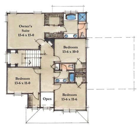 2nd floor plan design lifetime series homes by mueller homes inc
