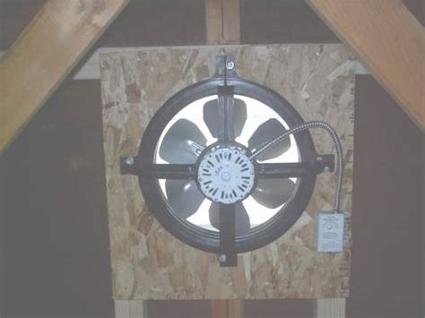 gable attic fan installation installation of attic gable vent fans gable vents