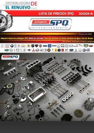 calaméo lista precios spq 20109 a