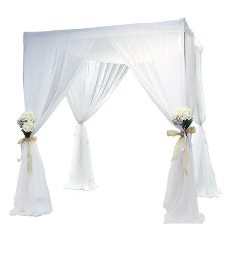 draped chuppah wedding canopy chuppah specialty pipe and drape wedding