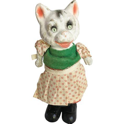 Cat Doll by Paper Mache Cat Doll Bouncy Figure Antiquefreak S