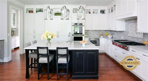 stacked cabinets rule of thumb for stacked kitchen cabinets normandy