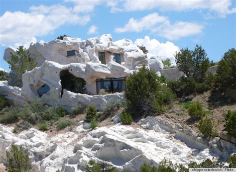 clark flintstone house photos camouflage home in lamy new mexico reminds us of the