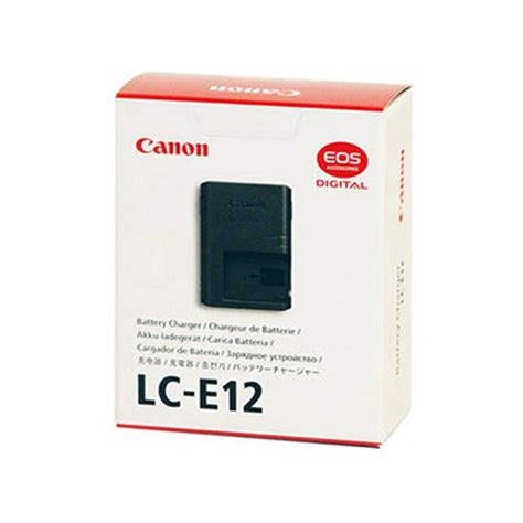 Charger Canon Lc E12 For Batere Lp E12 Eos M Eos 100d canon lc e12 battery charger for lp e12 battery pack