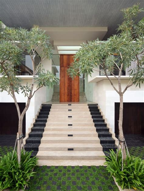 Entrance Stairs Design 40 Modern Entrances Designed To Impress Architecture Beast