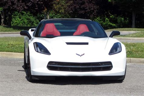 2014 corvette stingray white the 2014 corvette stingray coupe in arctic white