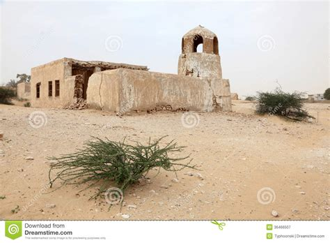 abandoned qatar royalty free stock photography
