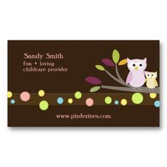 buisness cards aand templates for child care 1000 images about child care business cards on